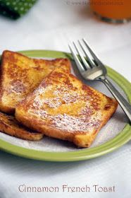 Indian Cuisine: Eggless Cinnamon French Toast Recipe   Easy Bread Recipes