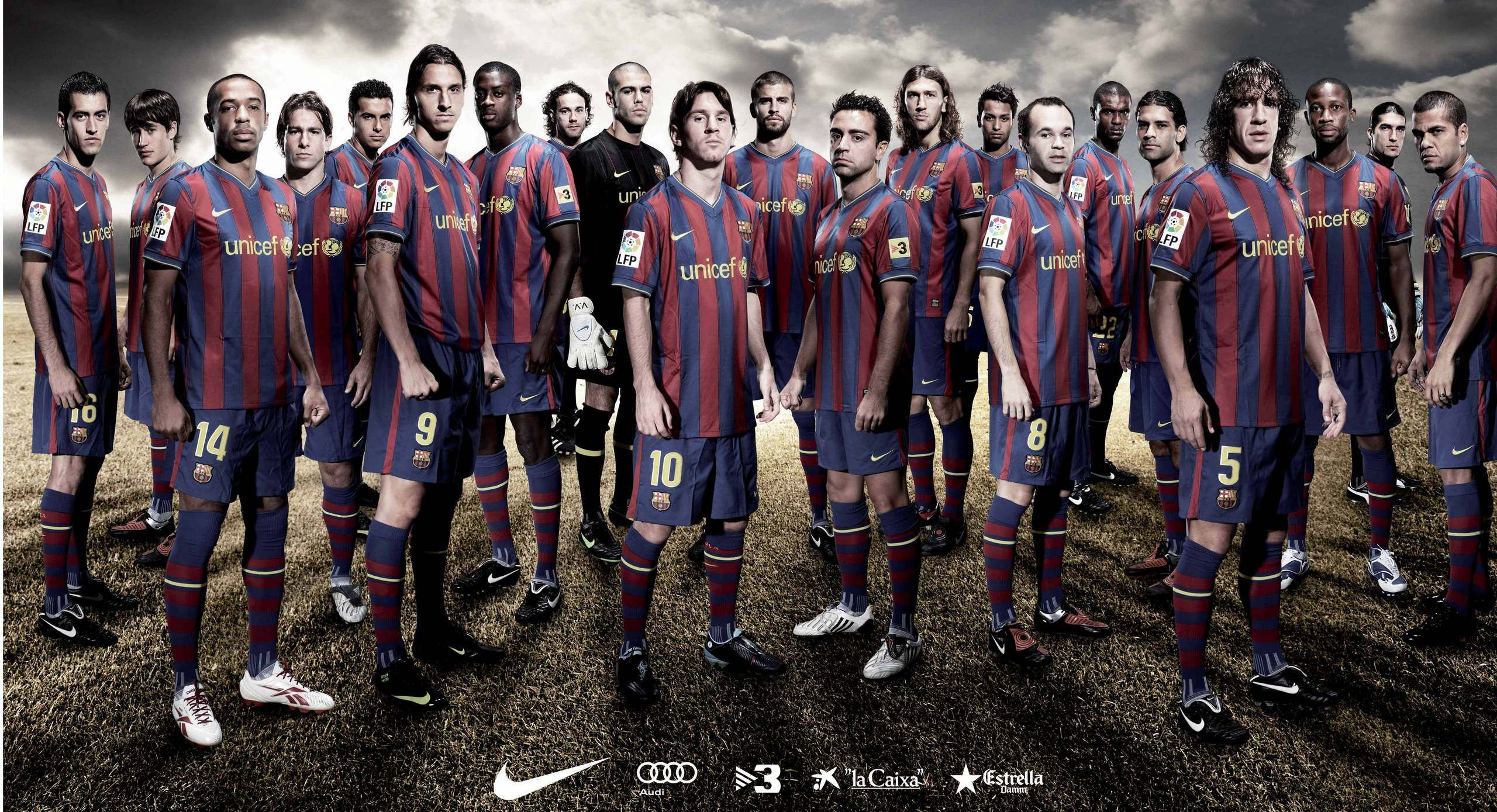 Image result for barcelona 2009 squad