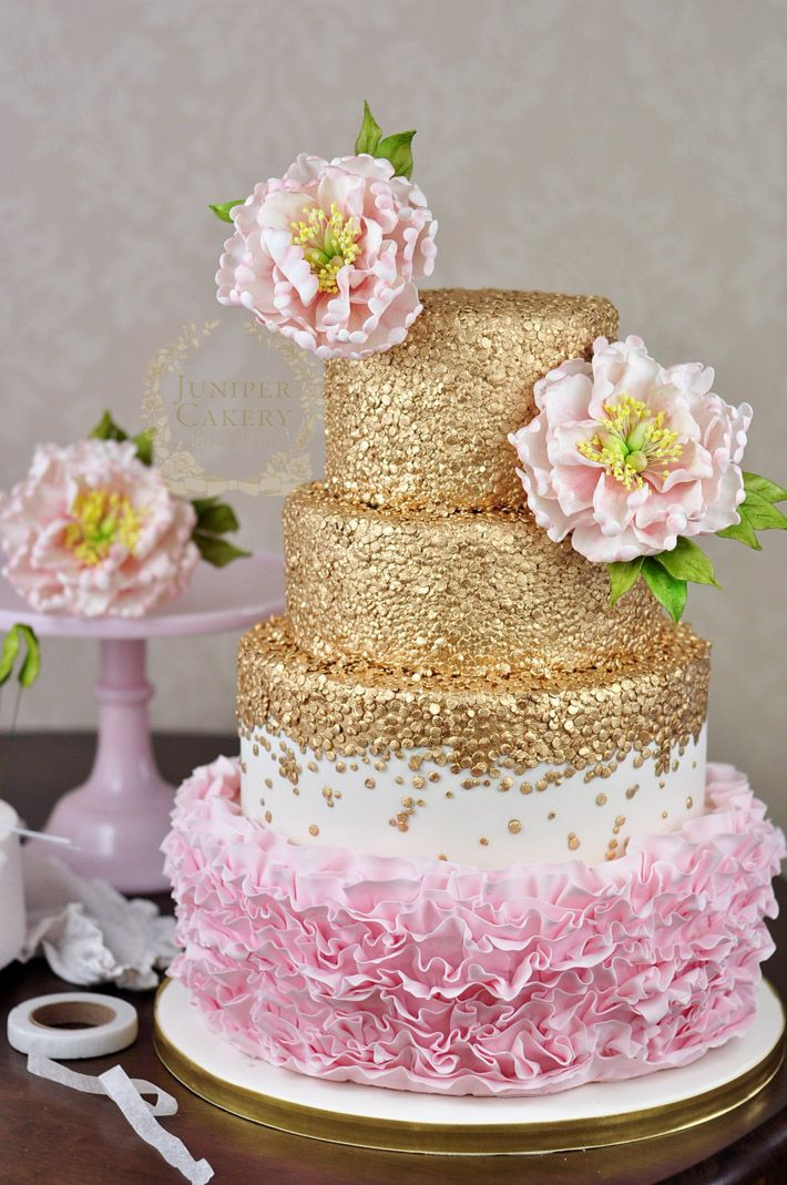 Budding Talent How to Make a Floral Cake Topper Wedding cake