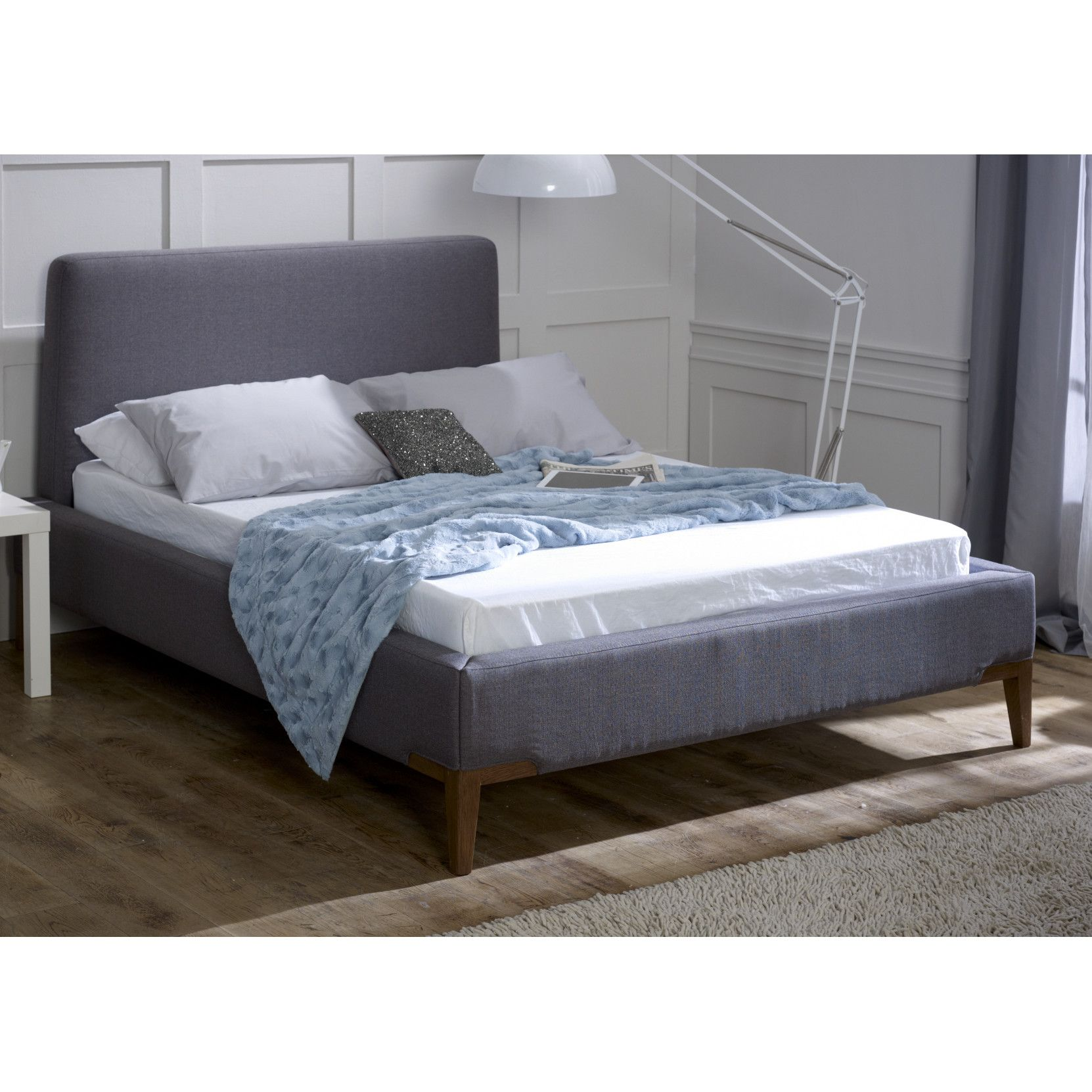 Emerald Upholstered Bed Frame Upholstered bed frame, Bed