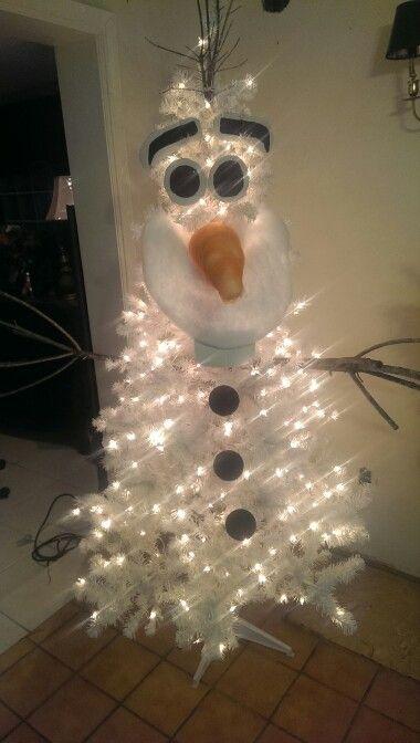 Olaf Christmas Trees.Olaf Christmas Tree Christmas Frozen Christmas Tree