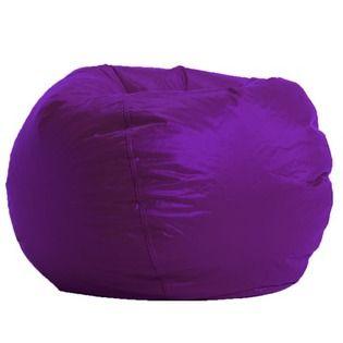 Terrific Comfort Research Ultra Bean Bag Lounger Color Purple Theyellowbook Wood Chair Design Ideas Theyellowbookinfo