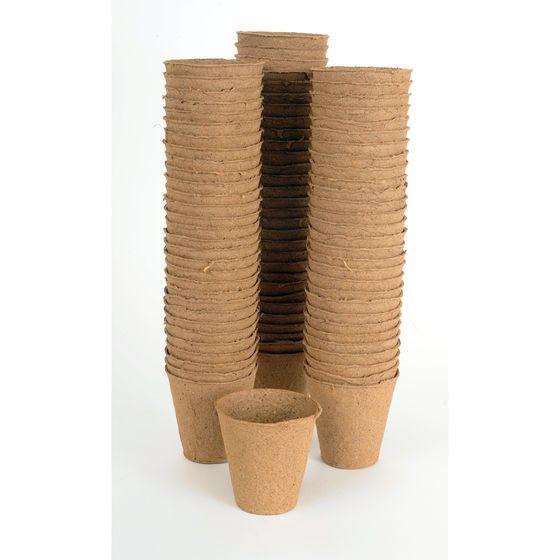 """Diy Biodegradable Pots: 3 1/8"""" Round Fertil Pots"""