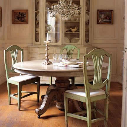 Pinterest Painted Dining Room Tables