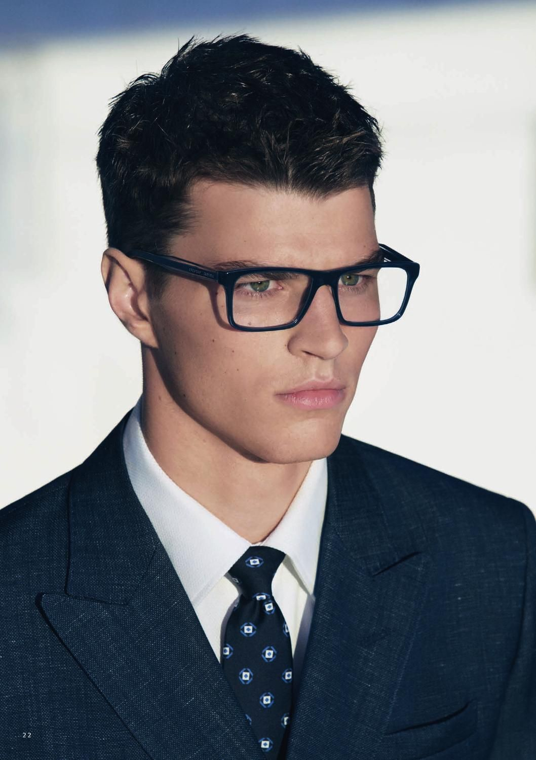 Mens Hairstyles With Glasses Men Eyeglasses Thick Frames Mens Eyewear 2015 Pinterest
