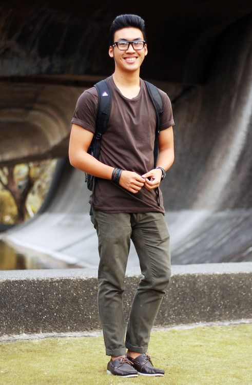 Olive pants w/brown shirt | Men's outfits | Pinterest | Shirts ...