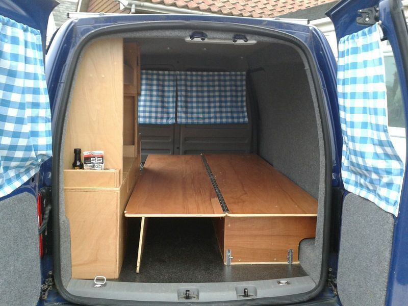 Ford Camper Van Interior Tiny House 8