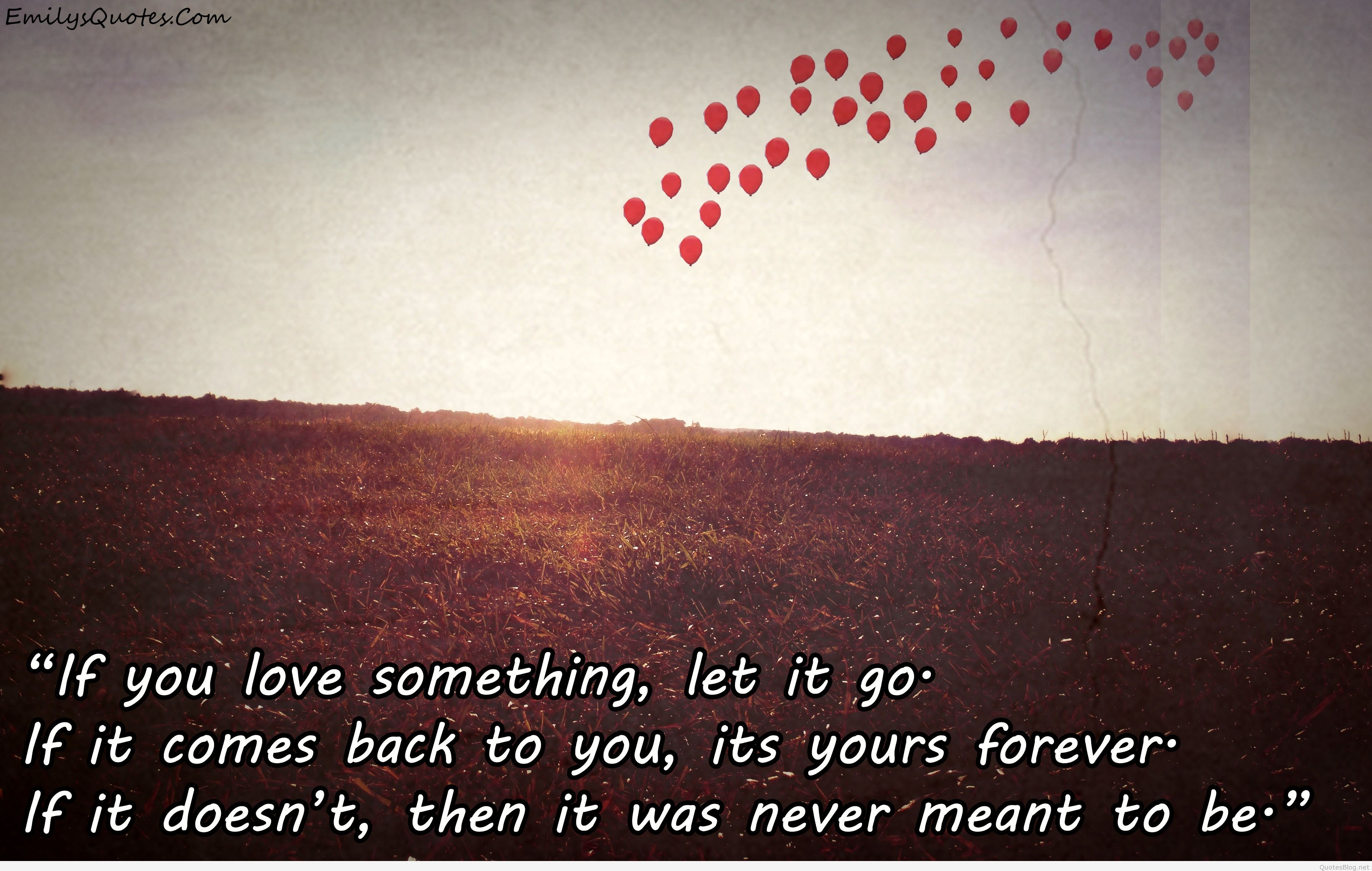 """Someday someone is going to thank you for letting me go"" More sad quotes about letting go"