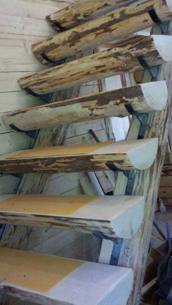 Diy Log Ideas Take Rustic Decor To Your Home I Immediately Need To Make The Carved Out Tree Bookshelf