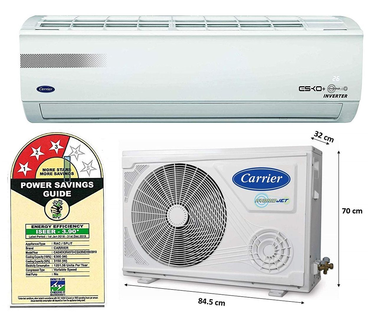 4 Best Air Conditioner from 40000 to 50000 Rupees Range