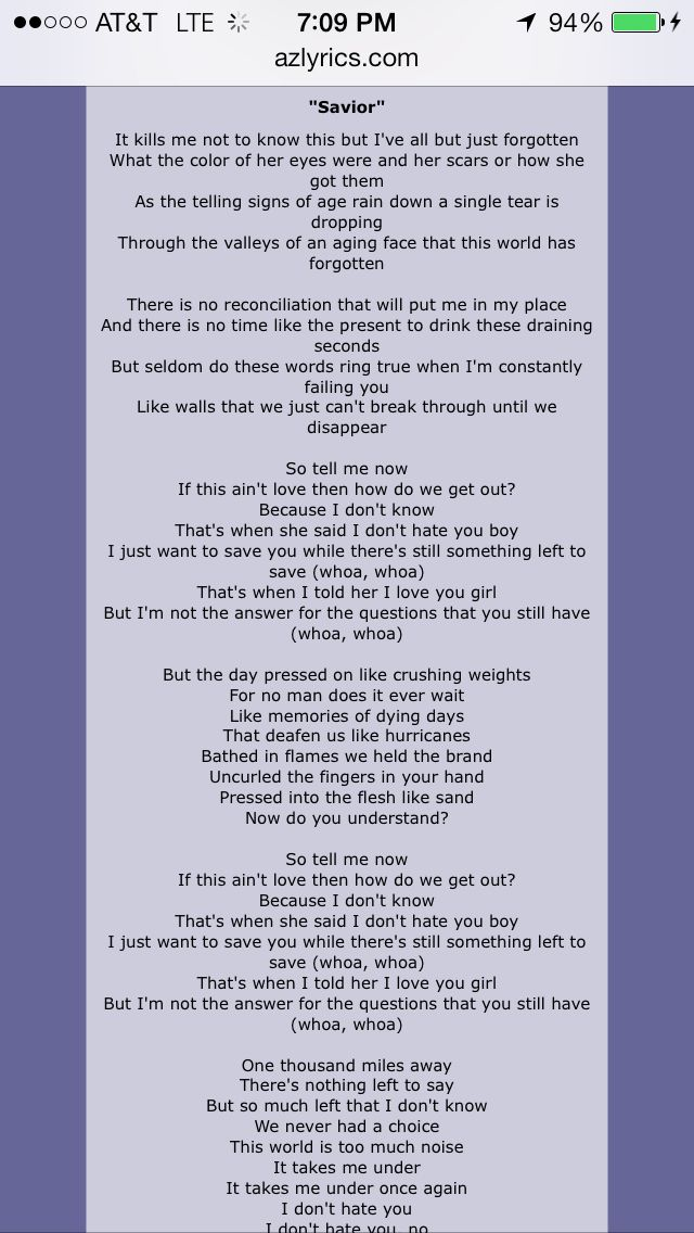 Savior by Rise Against. Best song ever   bands/song lyrics ...