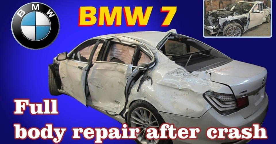 Watch A Bmw 7 Series Hacked Back From The Dead Auto Repair Repair Bmw