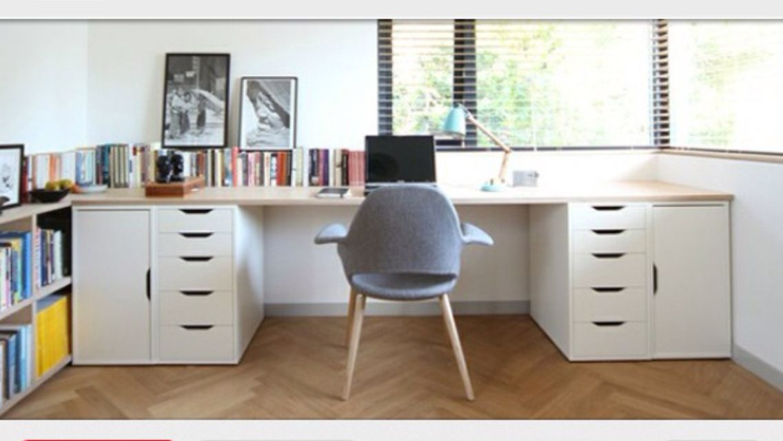 ikea vika alex office study desk craft room pinterest desks ikea hack and office spaces. Black Bedroom Furniture Sets. Home Design Ideas