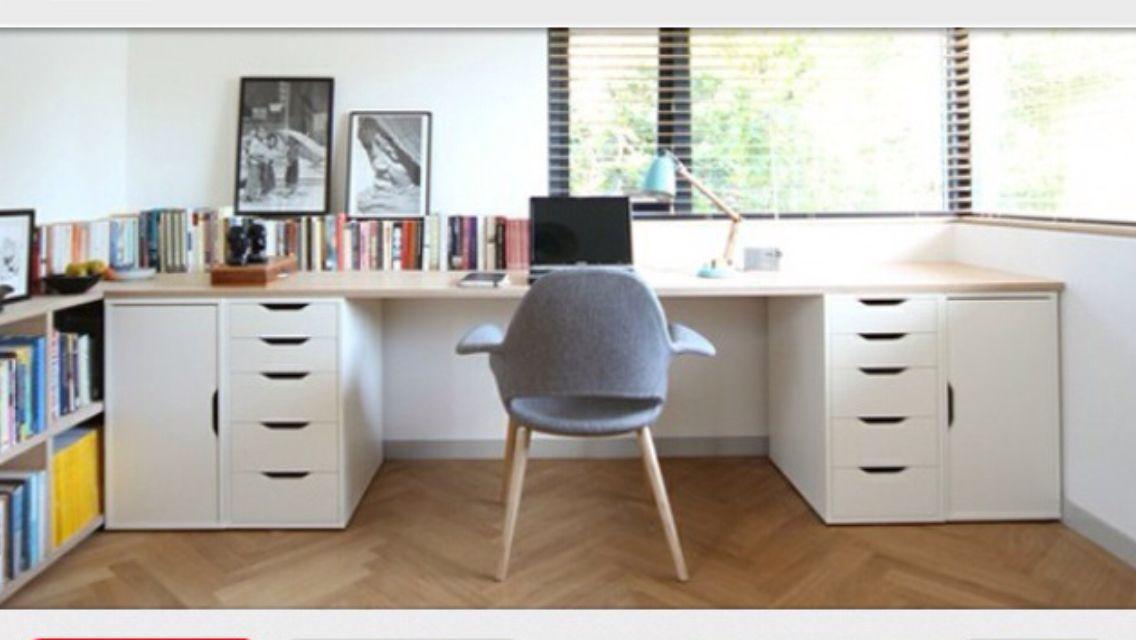 Ikea VIKA ALEX office/study desk Chez Moi Pinterest