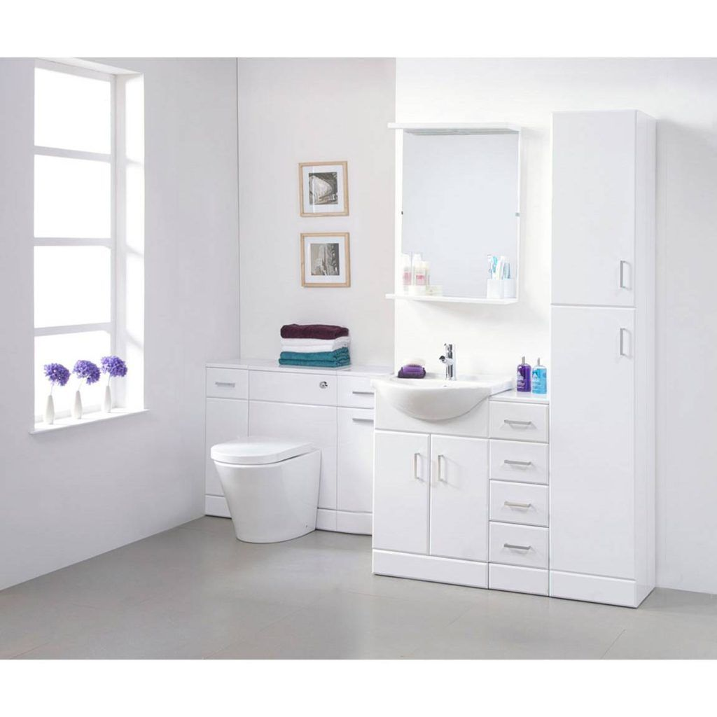 Ikea bathroom floor cabinet - Bathroom Floor Cabinet White Ikea