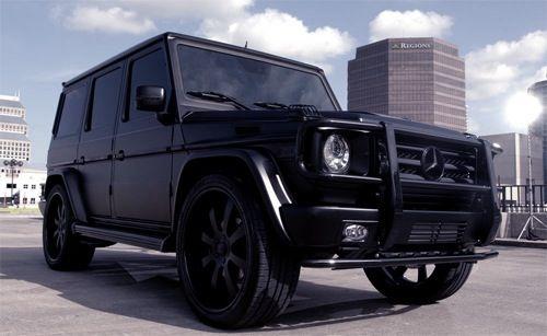 Mercedes Benz G Class Black On Black G Wagon Mercedes G Benz G