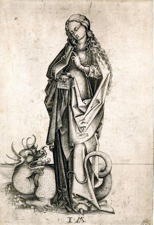 Engraving by Israhel van Meckenem; XV Century