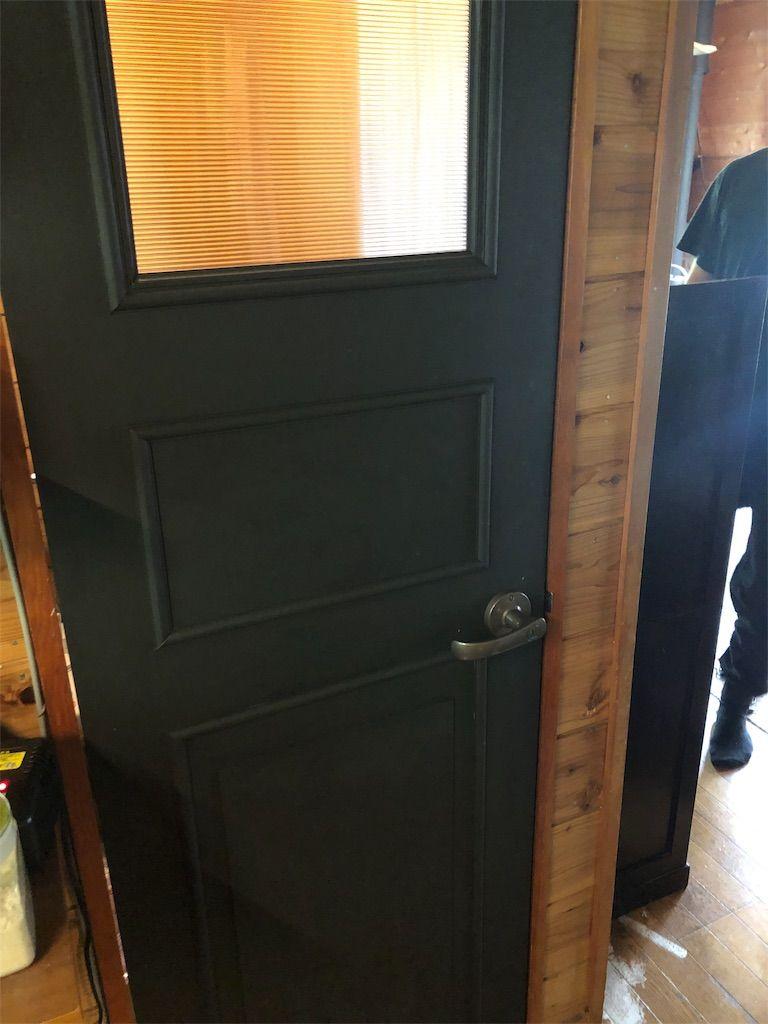 トイレのドアをリメイク 個人的な景観 2020 ドア アクリル板