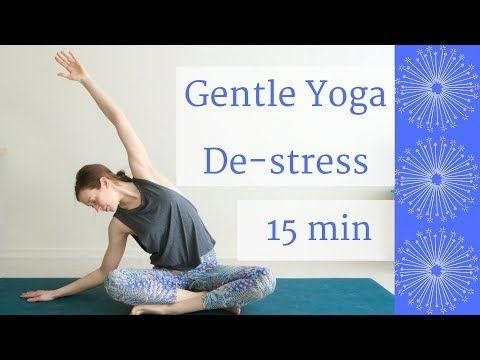 gentle yoga to destress  emily alexandra yoga  yoga