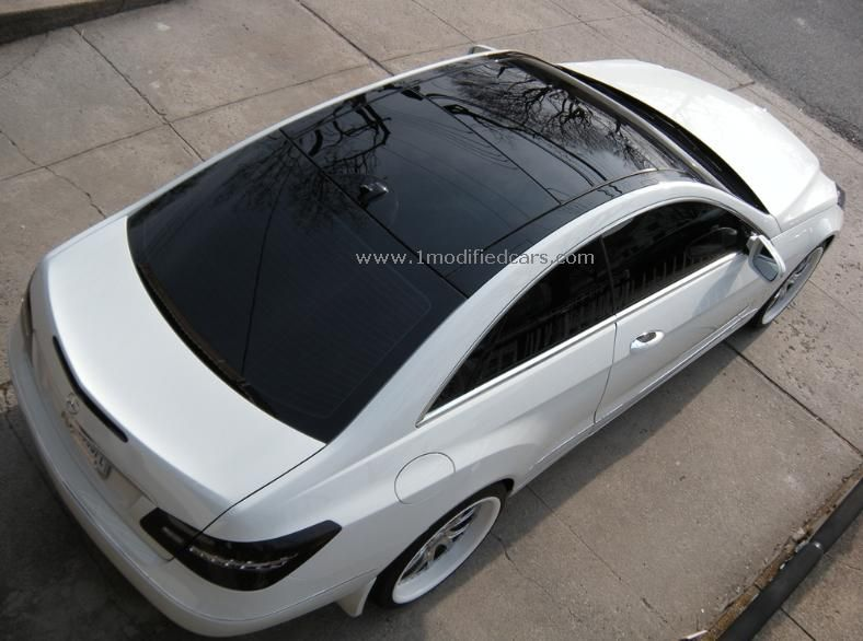 Modified Custom White 2010 Mercedes Benz With Panoramic