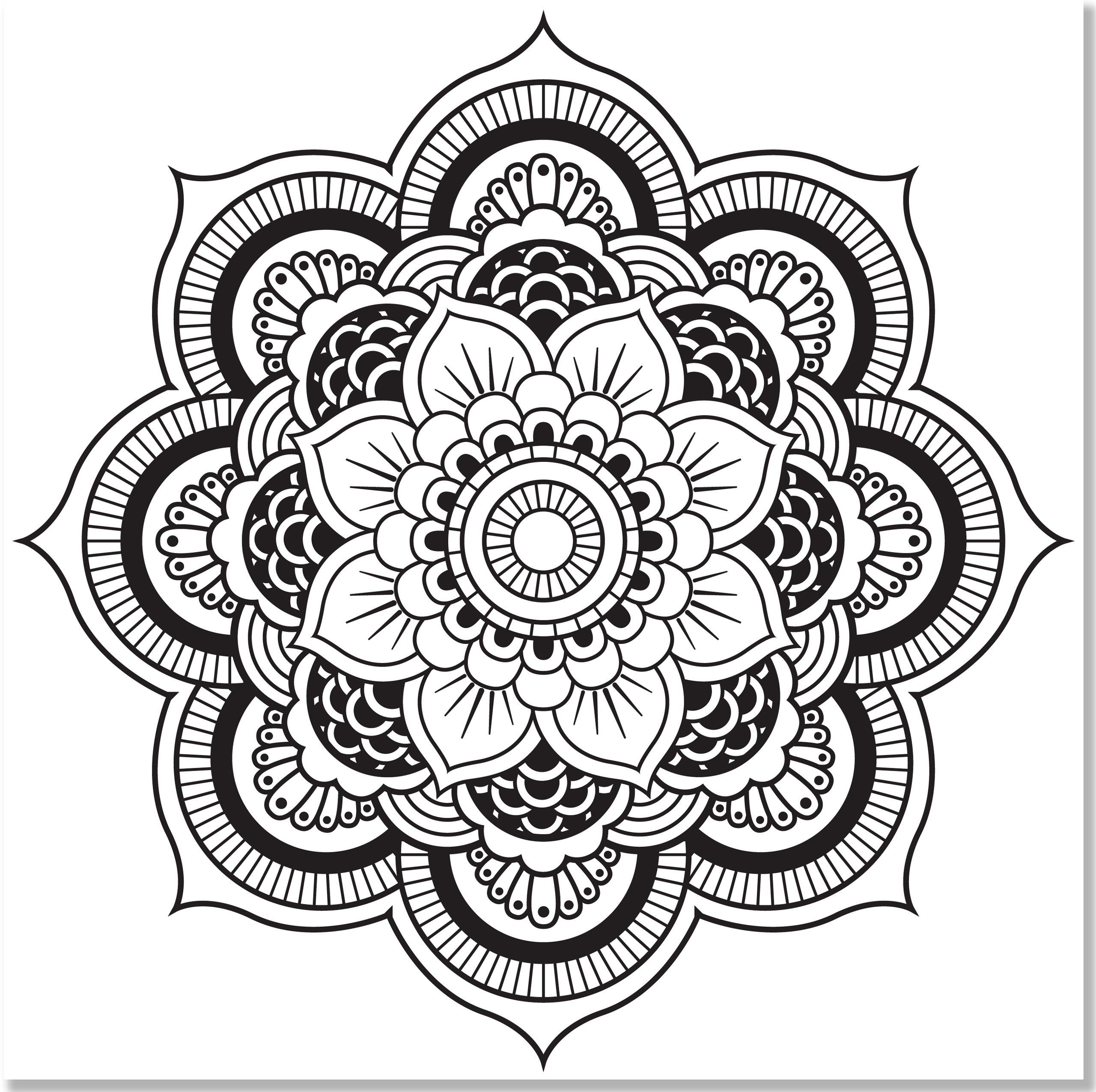 Amazon Adult Coloring Book Value Pack Kaleidoscope Mandala 2