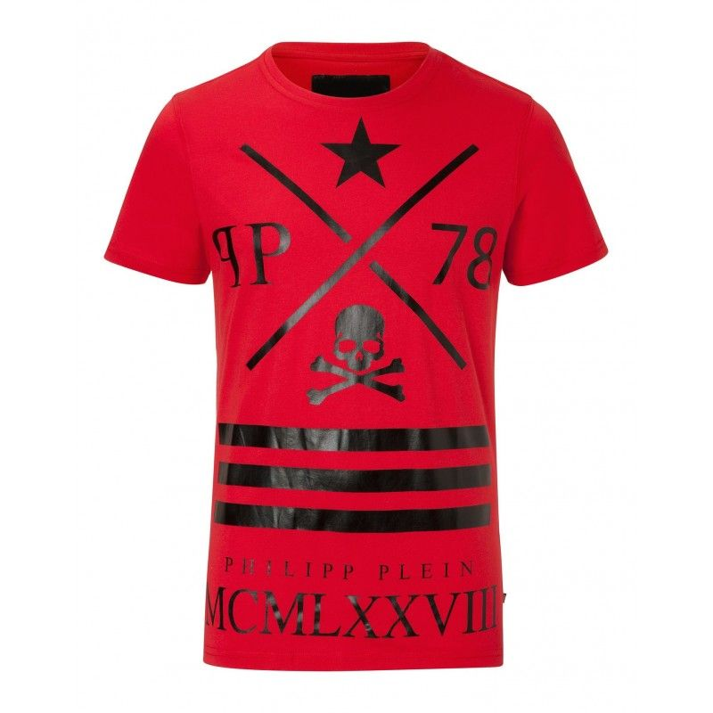 low cost 2d480 6d336 458 Mcmlxxviii Rojo T-shirt Baratas the shop co online on tiendas outlet