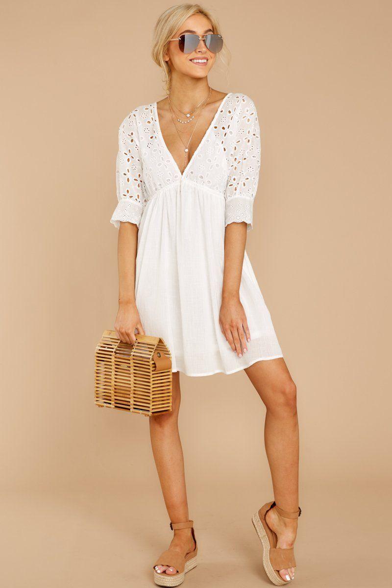 Cute White Eyelet Lace Dress Short Flowy Lace Dress Dress 54 00 Red Dress Boutique Eyelet Lace Dress Short Dresses White Flowy Dress [ 1200 x 800 Pixel ]