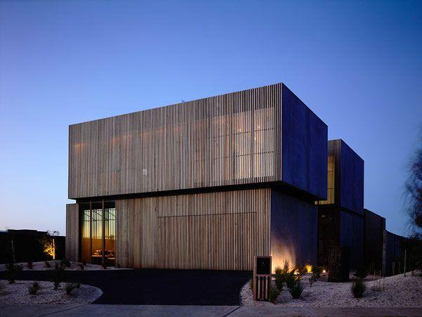 Modernes Haus Design - Robustes küstliches Anwesen in Australien - geometrische formen farben modernes haus
