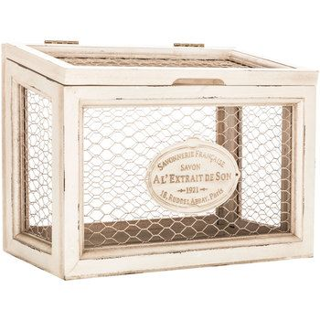 Get White Chicken Wire Box online or find other Boxes products from ...
