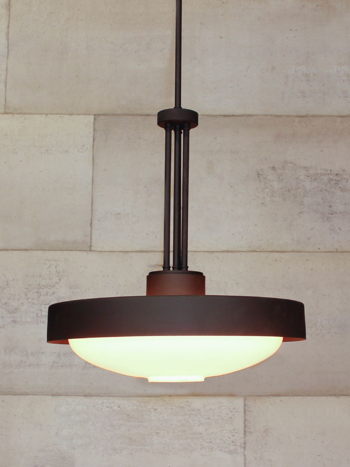 Art Deco Style Ceiling Pendant Chantelle Lighting Bespoke Uk