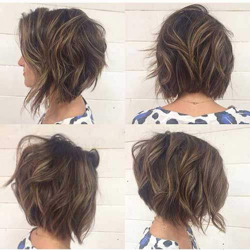 Short Hairstyles For Thick Hair Adorable Unique Short Hairstyles For Thick Haired Ladies  Pinterest