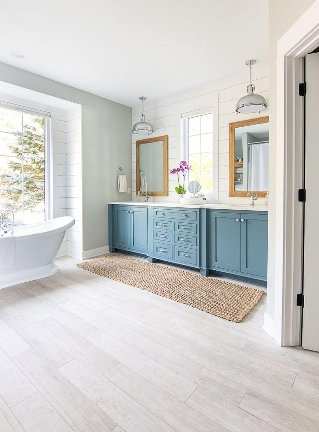 36 Fabulous Coastal Style Bathroom Decor Ideas in 2020 ...