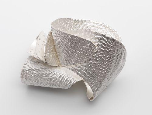 Julie Blyfield  Brooch: Shell 2011  Sterling silver
