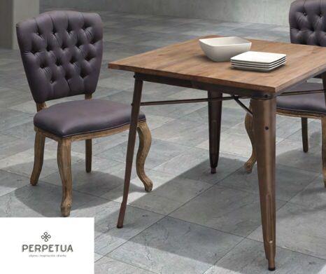 Sillas mesas comedor sala elegante muebles m s for Sillas comedor elegantes