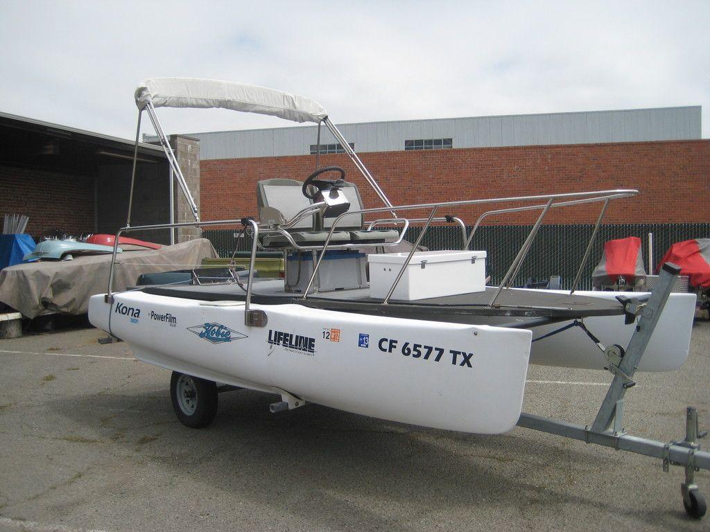 Hobie Cat Conversion | Small Catamarans | Boat, Boat plans, Hull boat