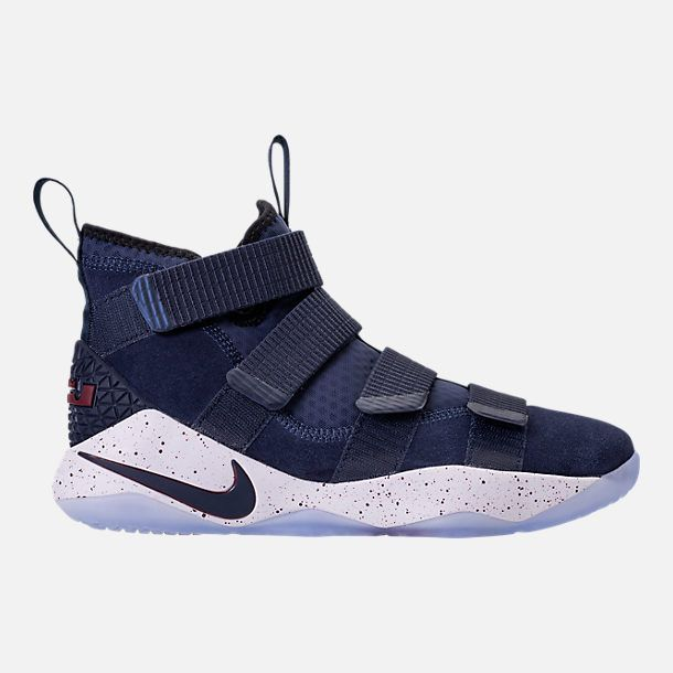 584daac0aaf87 Right view of Men s Nike LeBron Soldier 11 Basketball Shoes