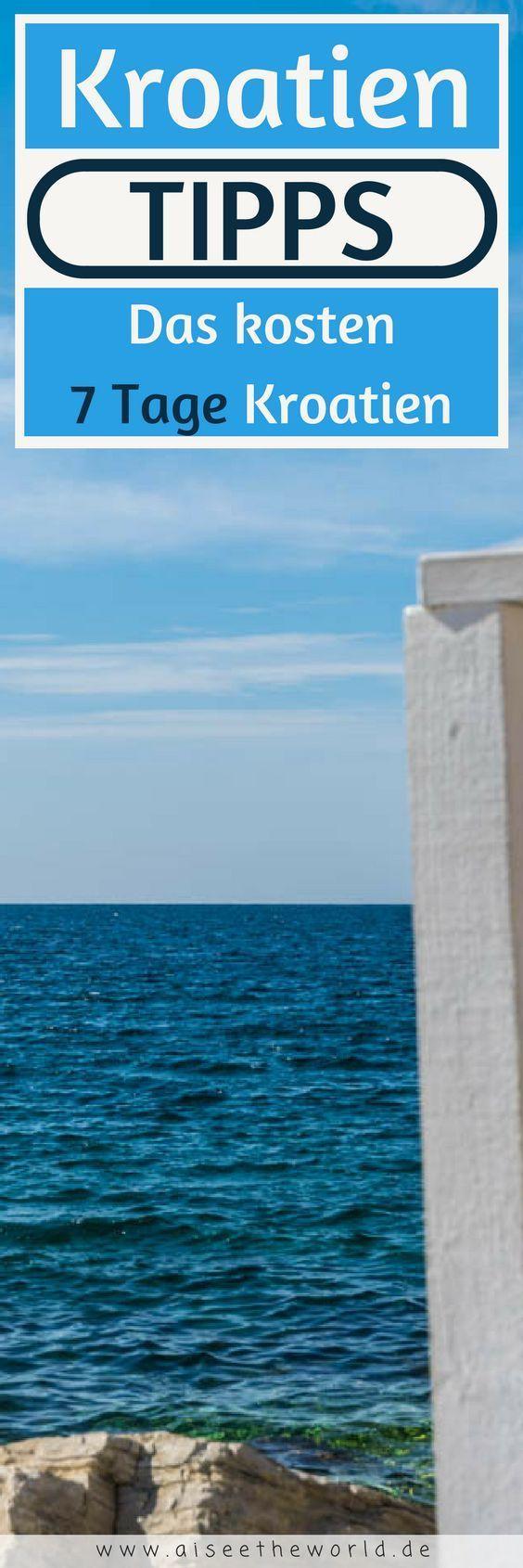 Urlaub in Kroatien Das kosten 7 Tage in Kroatien