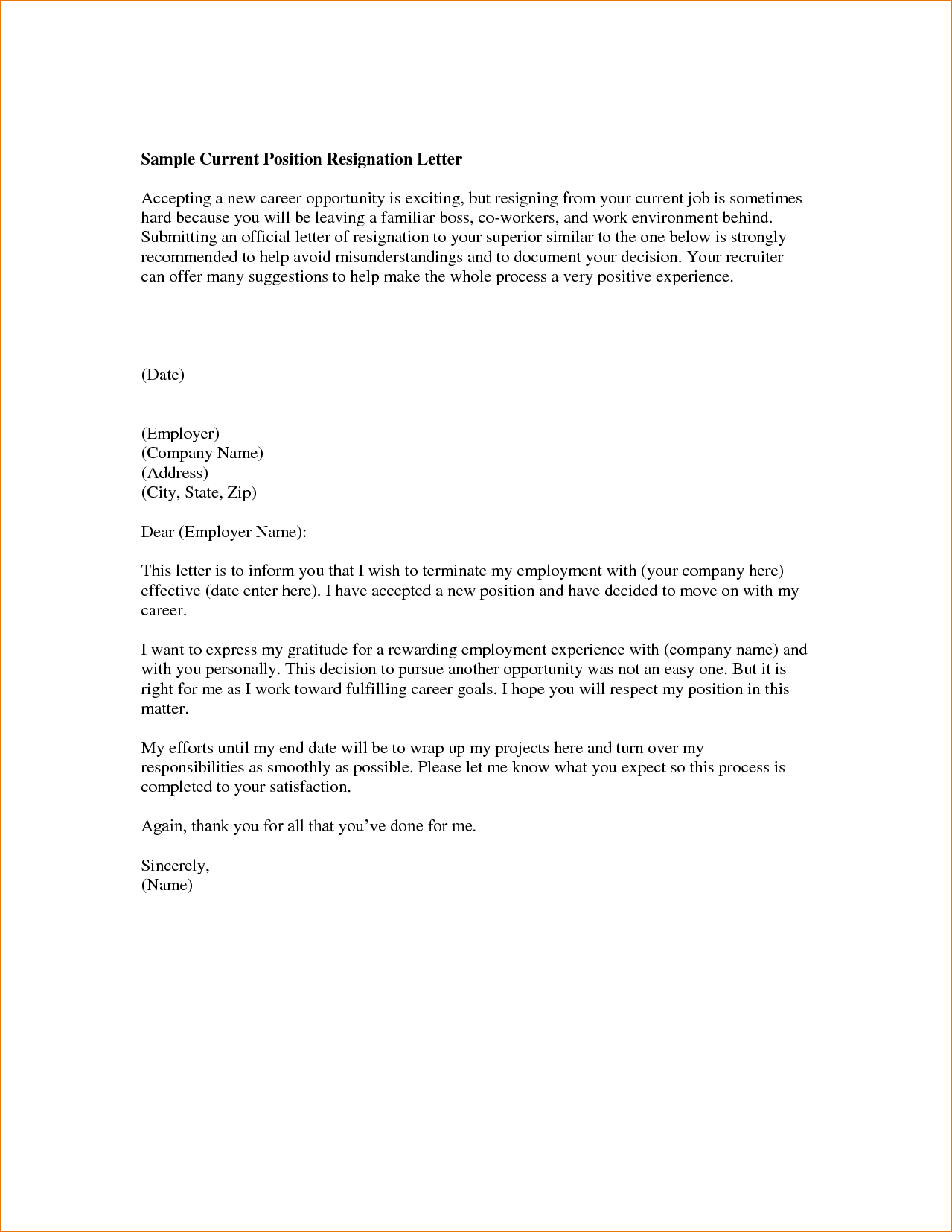 Employment Application Rejection Letters Letters Organized By