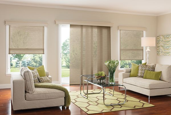 Roller Shades With Continuous Loop Lift Sheffield Meadow