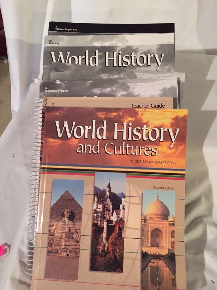 World History And Cultures Abeka Homeschool Student Book Teacher Key