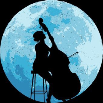 Double Bass by Moonlight