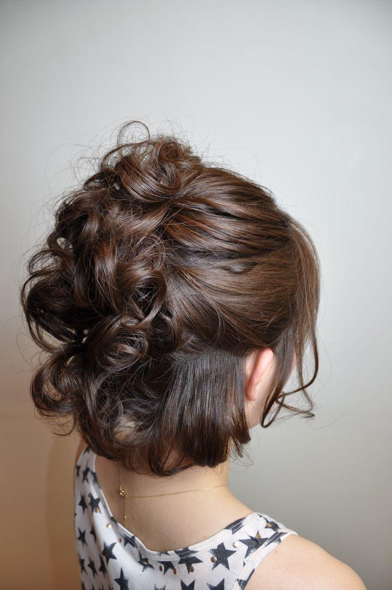 hair by 美容室 gimick 北千住店 . half updo | hair in 2019