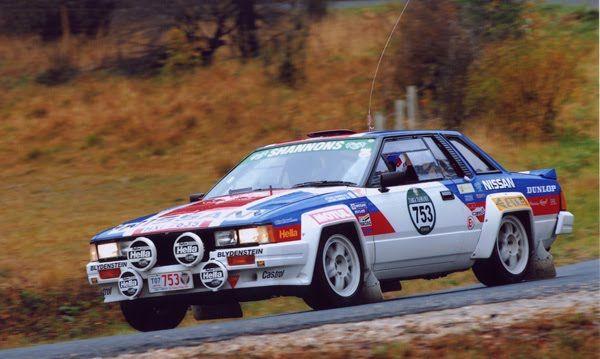 Nissan 240 Rs Group B 3 Nissan Nissan Silvia Rally Car