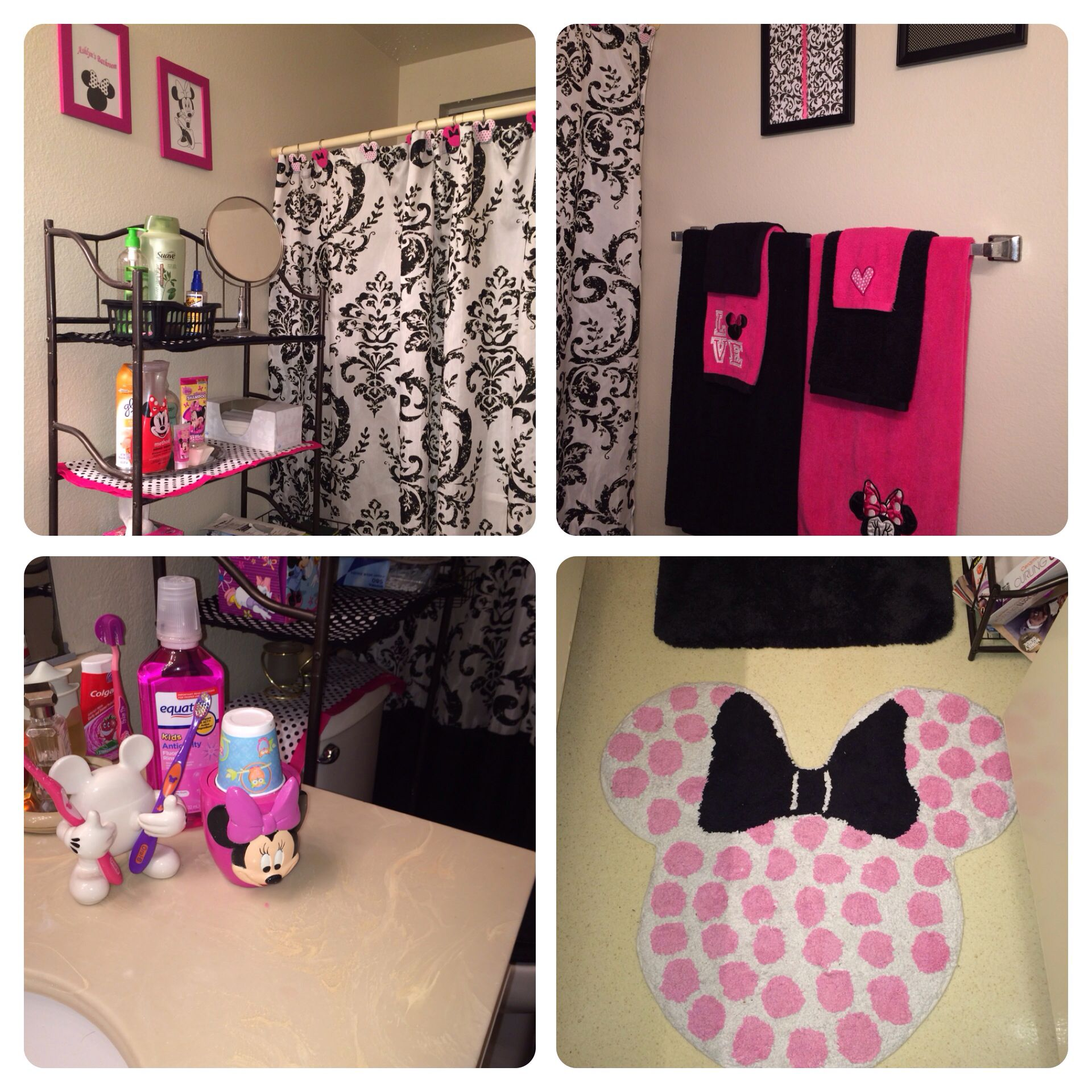 kids minnie mouse bathroom