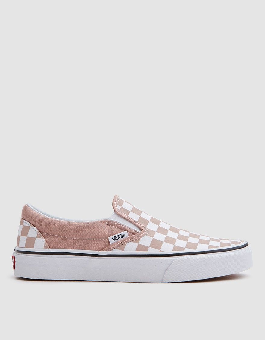 73c20869aa8 Vans   Classic Slip On in Mahogany Rose White Checker