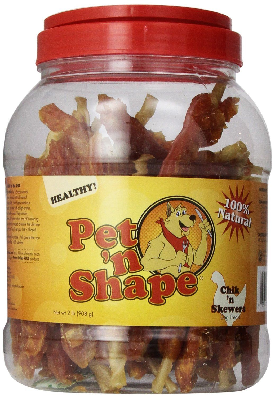 Pet n Shape Chik n Skewers Natural Dog Treats More infor at the