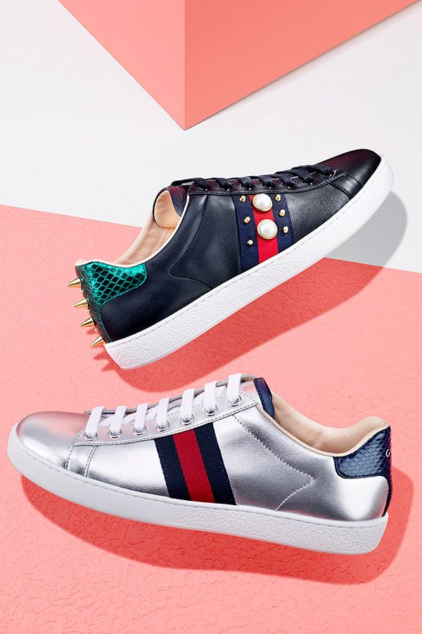 Shoes, Womens sneakers, Gucci shoes
