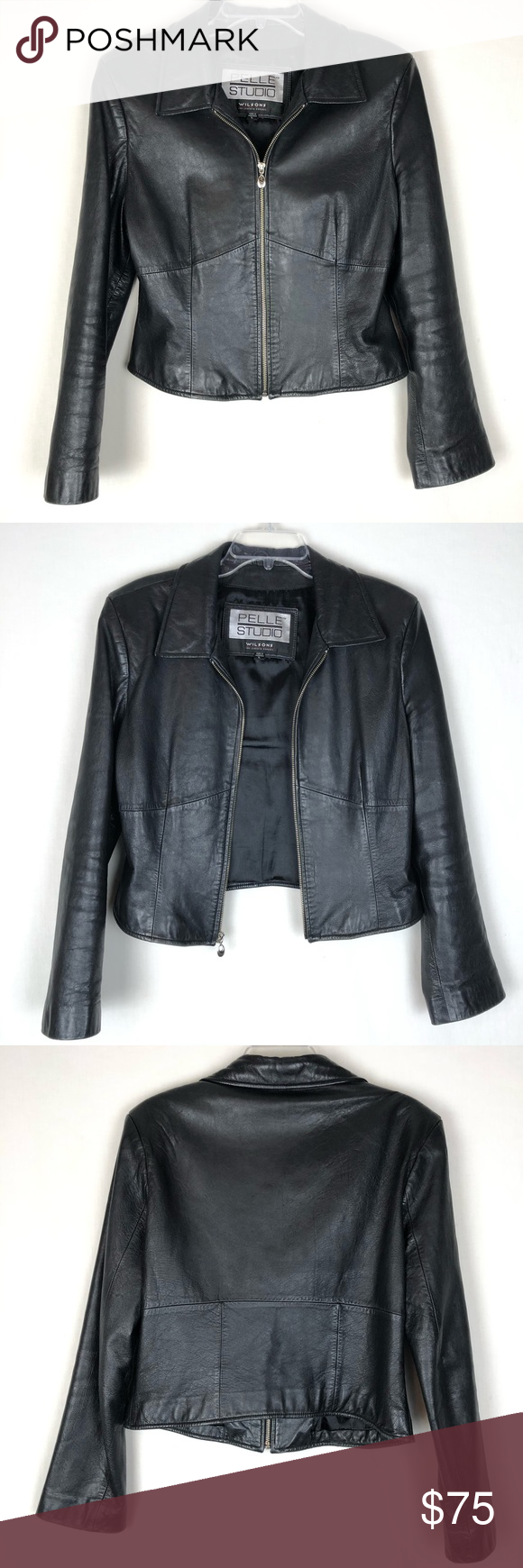 Wilsons Pelle Studio leather jacket in 2020 Leather