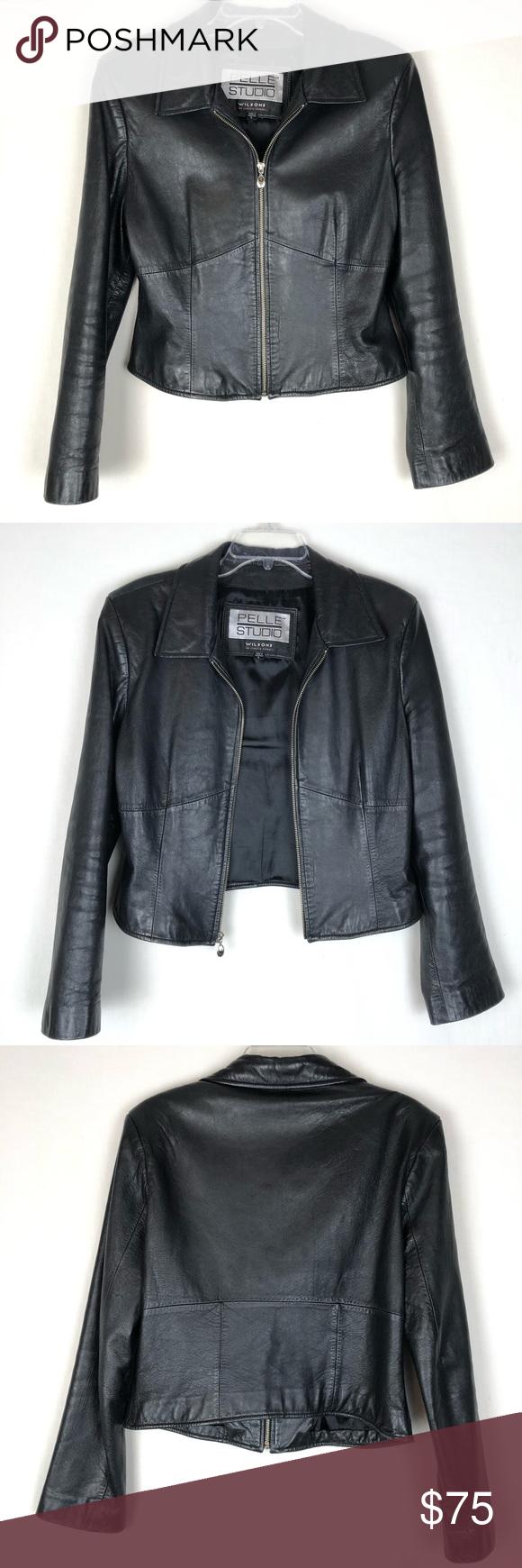 Wilsons Pelle Studio leather jacket in 2020 Leather