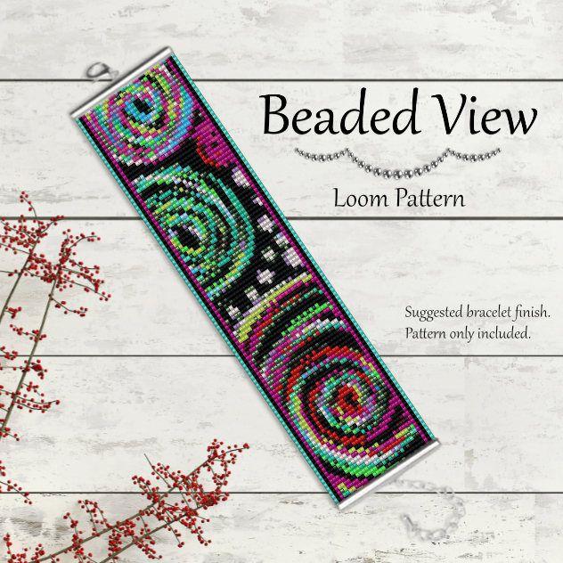 Bead Loom Pattern Loom Bead Pattern Loom Bracelet Pattern | ideas ...